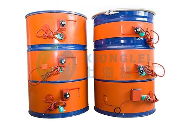 硅橡胶油桶加热器