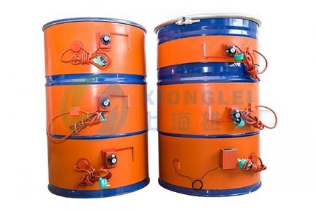 江苏硅橡胶油桶加热器