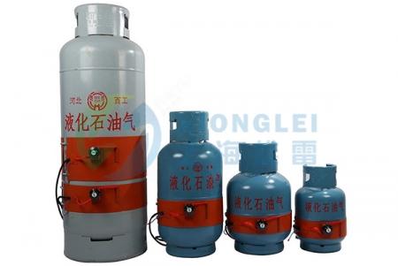 钢气瓶硅橡胶电加热器